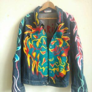 NO RIVALS Fire Levi's LEJ Denim Jacket
